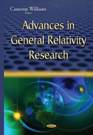 Advances in General Relativity Research imagine