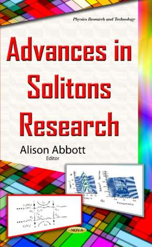 Advances in Solitons Research imagine