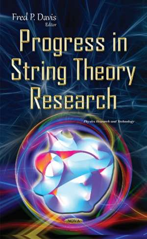 Progress in String Theory Research imagine