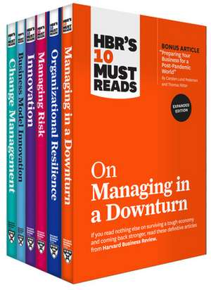 HBR's 10 Must Reads for the Recession Collection (6 Books) imagine