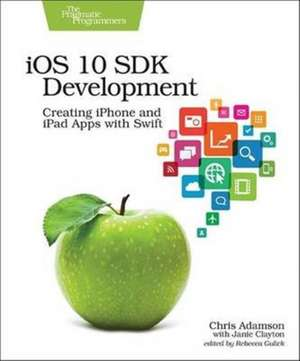 iOS 10 SDK Development de Chris Adamson