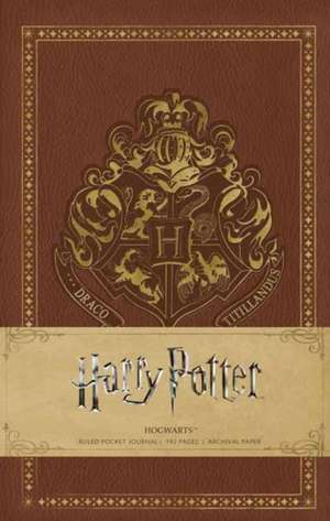 HARRY POTTER: HOGWARTS HARDCOVER RULED NOTEBOOK de INSIGHT EDITIONS