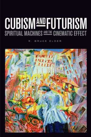 Cubism and Futurism imagine