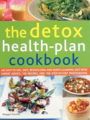 The Detox Health-Plan Cookbook de Maggie Pannell