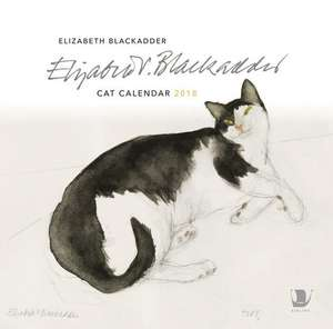 Elizabeth Blackadder Cat Calendar 2018