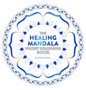 Healing Mandala Pocket Colouring Book