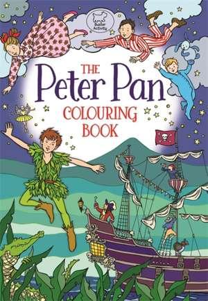 Peter Pan Colouring Book