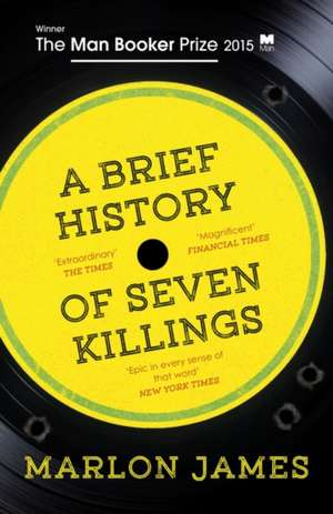 A Brief History of Seven Killings de Marlon James