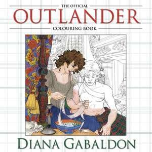The Official Outlander Colouring Book de Diana Gabaldon