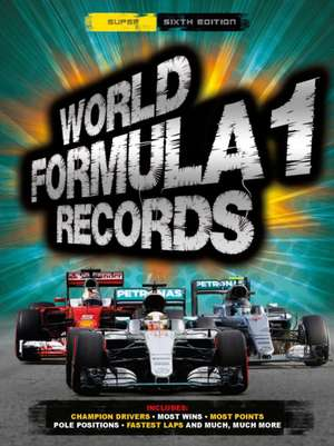 BBC Sport World Formula 1 Records 2017 de Bruce Jones