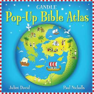 Gandle Pop-Up Bible Atlas