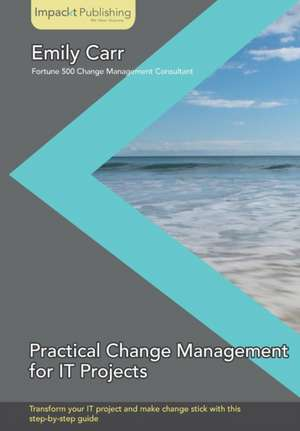 Practical Change Management for It Projects imagine