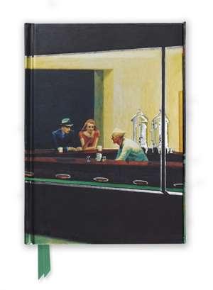 Edward Hopper: Nighthawks (Foiled Journal) de Flame Tree Studio