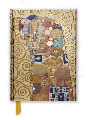 Klimt: Fulfilment (Foiled Journal) de Flame Tree Studio