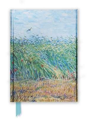 Van Gogh: Wheat Field with a Lark (Foiled Journal) de Flame Tree Studio