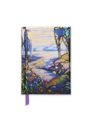 Tiffany Cypress and Lilies (Foiled Pocket Journal) de Flame Tree Studio