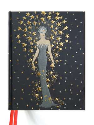 Erté Starstruck (Blank Sketch Book) de Flame Tree Studio