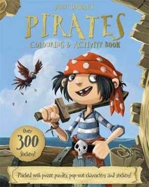 Jonny Duddle's Pirates Colouring & Activity Book de Jonny Duddle