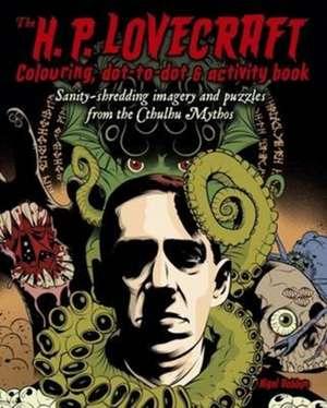 H.P. Lovecraft Colouring & Activity Book imagine