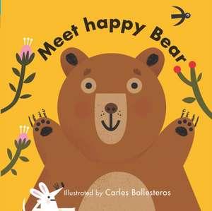 Little Faces: Meet Happy Bear de Matthew Morgan