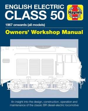 English Electric Class 50 de Jarrod Cotter