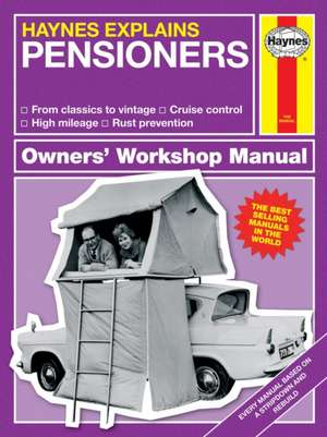 Haynes Explains Pensioners: All Models - From Classics to Vintage - High Mileage - Mots - Rust Prevention de Boris Starling