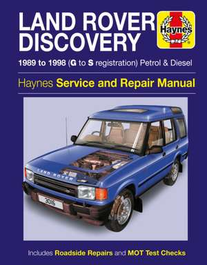 Land Rover Discovery Petrol And Diesel de  Haynes Publishing