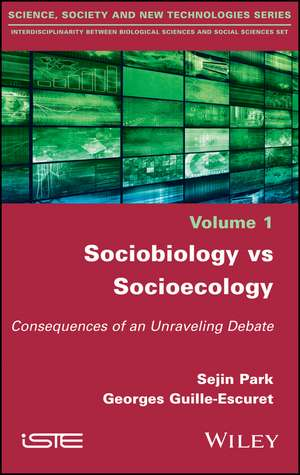 Sociobiology vs Socioecology