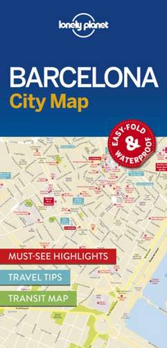 Lonely Planet Barcelonacity Map de Lonely Planet