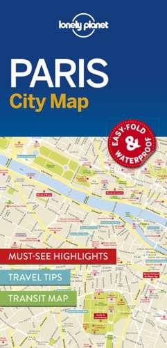 Lonely Planet Paris City Map de Lonely Planet
