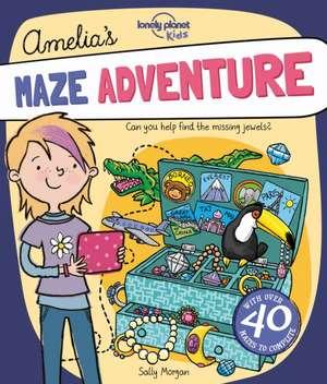 Amelia's Maze Adventure de Lonely Planet Kids