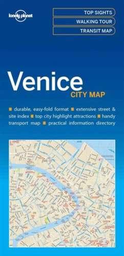 Lonely Planet Venicecity Map de Lonely Planet