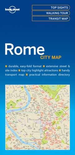 Lonely Planet Rome City Map de Lonely Planet