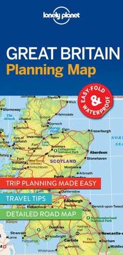 Lonely Planet Great Britain Planning Map de Lonely Planet