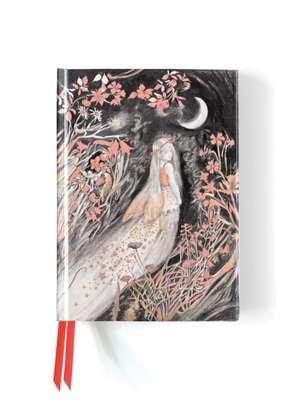 Manson: Fairy at Moonlight (Foiled Journal) de Flame Tree Studio