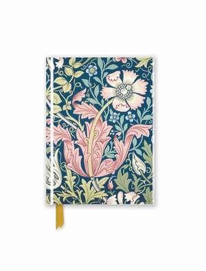 William Morris: Compton (Foiled Pocket Journal) de Flame Tree Studio