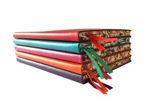 Red Artisan Notebook (Flame Tree Journals) de Flame Tree Studio