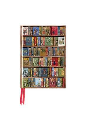 Bodleian Library: High Jinks Bookshelves (Foiled Pocket Journal) de Flame Tree Studio