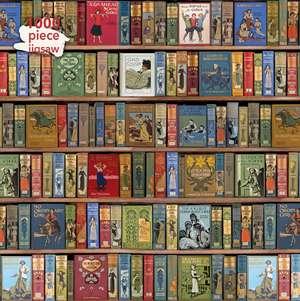 Adult Jigsaw Puzzle Bodleian Library: High Jinks Bookshelves: 1000-piece Jigsaw Puzzles de Flame Tree Studio