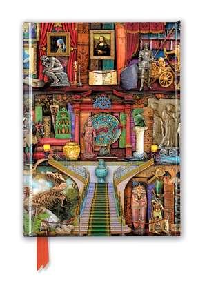 Aimee Stewart: Museum Bookshelves (Foiled Journal) de Flame Tree Studio
