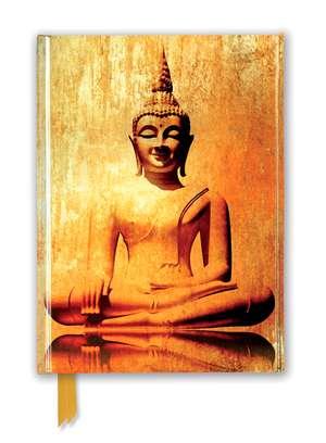 Golden Buddha (Foiled Journal) de Flame Tree Studio