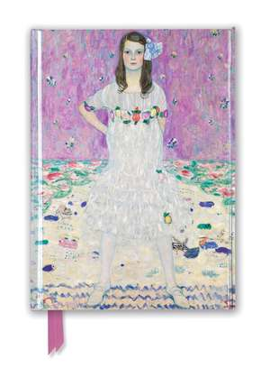 Gustav Klimt: Mäda Primavesi (Foiled Journal) de Flame Tree Studio
