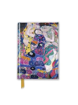 Gustav Klimt: The Virgin (Foiled Pocket Journal) de Flame Tree Studio