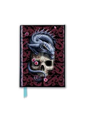 Anne Stokes: Oriental Dragon (Foiled Pocket Journal) de Flame Tree Studio