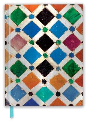 Alhambra Tile (Blank Sketch Book) de Flame Tree Studio