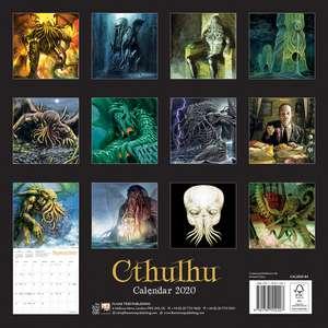 Cthulhu Wall Calendar 2020 (Art Calendar) de Flame Tree Studio