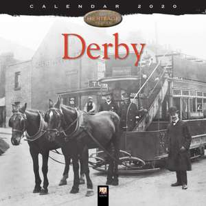 Derby Heritage Wall Calendar 2020 (Art Calendar) de Flame Tree Studio