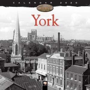 York Heritage Wall Calendar 2020 (Art Calendar) de Flame Tree Studio