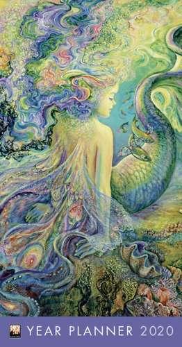 Josephine Wall - Mer Fairy (Planner 2020) de Flame Tree Studio