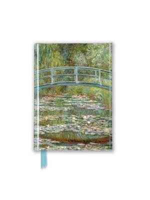 Claude Monet: Bridge Over a Pond of Water-Lilies (Foiled Pocket Journal) de Flame Tree Studio
